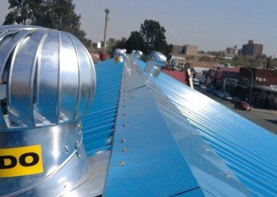 roofing and painting its Kwamazibuko Hostels 2