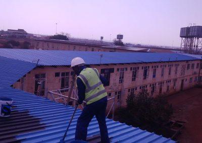 roofing and painting its Kwamazibuko Hostels